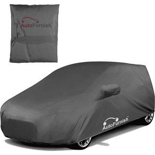Autofurnish Premium Grey Car Body Cover For Renault Logan Edge - Grey