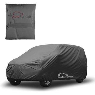 Autofurnish Matty Grey Car Body Cover For Skoda Fabia Scout - Grey