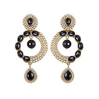 Rajwada Arts Fancy Black Color Earrings