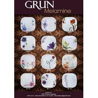 Grun Melamine 34 Pcs Dinner Set