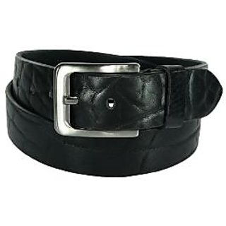 Orosilber Men's Formal Belt - Black