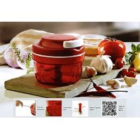 TUPPERWARE ULTIMO SMART CHOPPER (EXCLUSIVE TUPPERWARE RECIPE BOOKLET FREE)