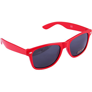 Oysters Red Wayfarer Sunglasses- Beat The  1403