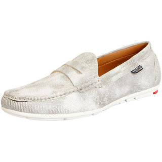Fausto MenS Beige Open Loafers