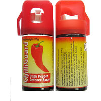 Chilliguard Self Defence Pair Of Pepper Spray - 25 Gms