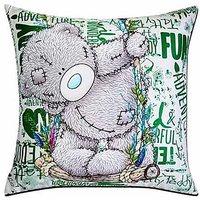 Tatty Teddy Swinging Digital Print Cushion Cover