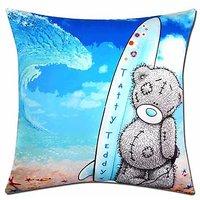 Tatty Teddy Surfing Digital Print Cushion Cover
