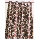 LIANA CURTAIN BROWN/BEIGE(DOOR CURTAIN)