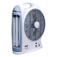 Orbit Gazabo 8 Inches Rechargeable Fan With Light
