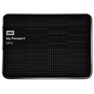 WD My Passport Ultra 1TB Portable External Hard Drive USB 3.0 - Black