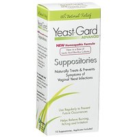 YeastGard Advanced Suppositories, 10-Count Boxes (Pack Of 3)