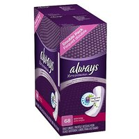 Always Xtra Protection Extra Long Daily Liners 34 Count (Pack Of 2)
