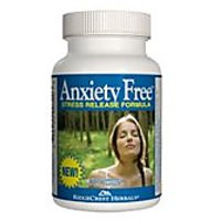 Ridgecrest Herbals Anxiety Free Stress Release Formula Capsule - 60 Per Pack