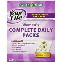 Nature's Bounty Prescriptive Formula Optimal Women's Vitamin Pack, 30 Day Supply
