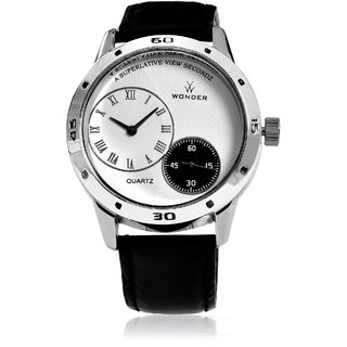 Wonder Analog Men's Watch Double Dial And Double Movement-WG-06