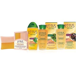 Combo Contains Herbal Shampoo + Herbal Oil For Falling Hair + Hairroots Active Hair Tonic + Ultra Moisturising Cleanser