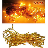Accedre Yellow Rice Lights With 63 Serial Bulbs For Diwali At Special Price
