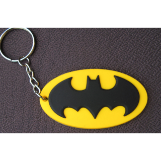 BAT RUBBER KEYCHAIN - KEYRING - KEY CHAIN - KEY RING FOR CAR AND BIKE