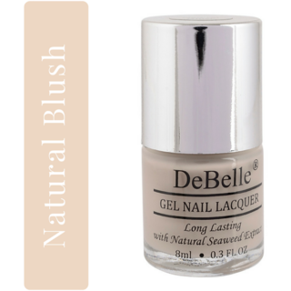 DeBelle Gel Nail Lacquer Nude Nail Polish - 8 ml (Natural Blush)