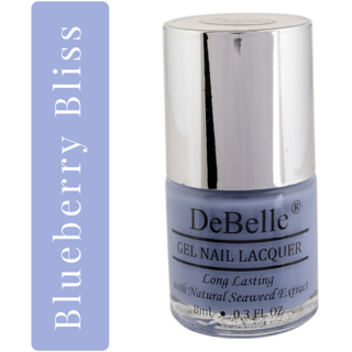 DeBelle Nail Lacquer Purple Nail Polish - 8 ml (Blueberry Bliss)