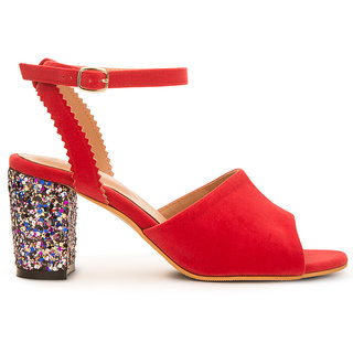 Patricia Womens Heels In Red