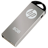 HP V-220 W 8 GB Pen Drive (Grey)