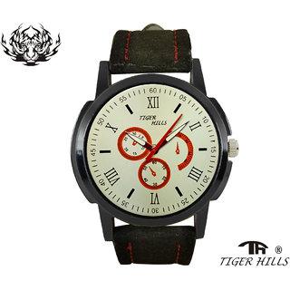 Tigerhills Watch Strap Black Model No-T1071736