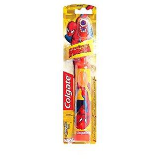 Colgate Kids Spiderman Battery Power Toothbrush (Multicolor) By Colgate