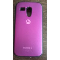 Sunlife Back Cover Case 4 Motorola Moto G XT1032 Purple Color Motorola Moto G