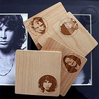 Forever 27 Club Wooden Coasters (Set Of 4)