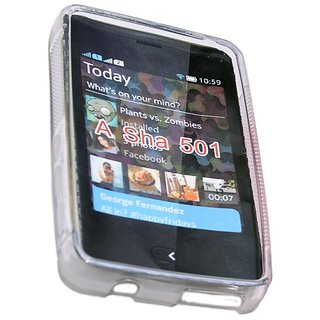 ncase PFBC-8564CL Back Cover for Nokia 501 (Clear)