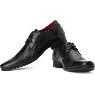 Red Tape Men Black Formal Shoes - 6101