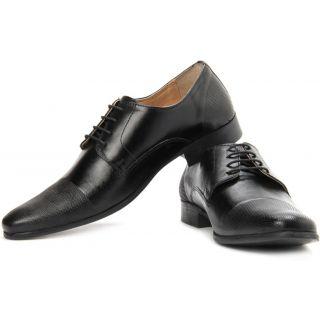 Red Tape  Men Black  Formal Shoes - 8111
