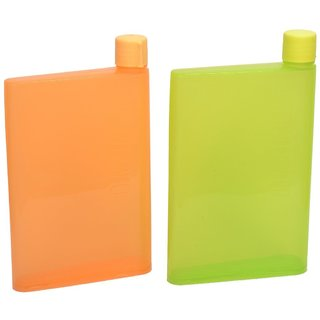 SC Notebook Water Bottle 450ml Color may Vary