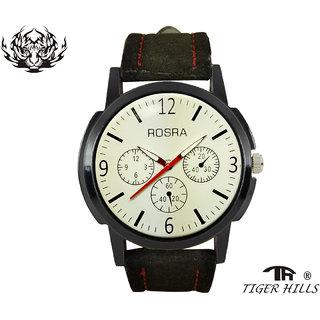 Tigerhills Watch Strap Black Model No-T1171753