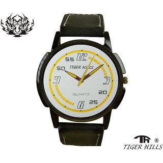 Tigerhills Watch Strap Black Model No-T1171760