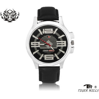 Tigerhills Watch Strap Black Model No-T1171761
