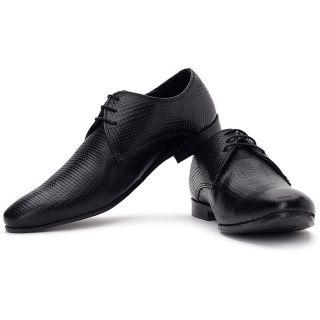 Red Tape Men Black Formal Shoes - 7221
