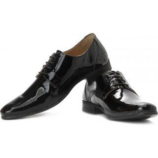 Red Tape Men Black Formal Shoes - 8138