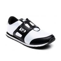 Fila White And Black Mens Sports Shoes - Arcane