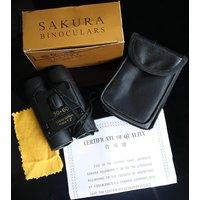 Premium Sakura Compact Travel Binocular 30 x 60 Field 7.2