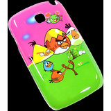 Angry Birds Samsung Champ Neo Duos C3262 Hard Back Cover Case shell pouch CO-400