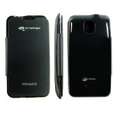 Micromax Superfone NINjA4 0A87 Flip Case Back Book cover Synthetic Leather CO-504