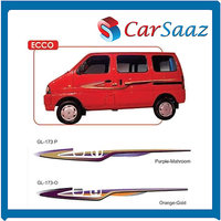 Car GRAPHICS/DECALS (GL – 173P & GL – 173O) For MARUTI EECO