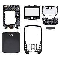 BlackBerry 8520 CURVE Full Body Housing Panel-Black