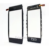100% Original Replacement Touch Screen Digitizer Glass For Nokia X7  X 7 Black