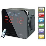 Ducasso Black Boy MultiMedia Speaker With USB+SD+Alarm+FM RADIO+Clock+REMOTE