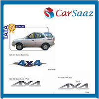 Car GRAPHICS/DECALS (GLS–021 B, GLS-022 S, GLS-023 S) For TATA SAFARI