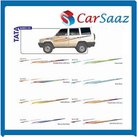 Car GRAPHICS/DECALS (GL–051 R,GL-051 Y, GL- 051 M Etc.) For TATA SUMO EX.