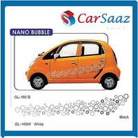 Car GRAPHICS/DECALS (GL–165 B, GL-165 W) For TATA NANO BUBBLE.